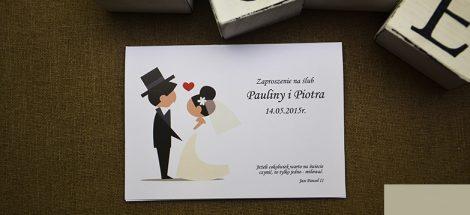 Zaproszenia Ślubne Humorystyczne