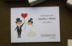 zabawne zaproszenie na ślub