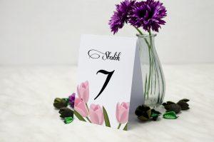 numer-stolika-wianki-tulipany