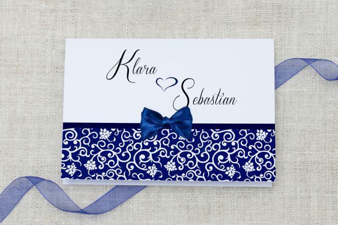 zaproszenie ślubne ornament