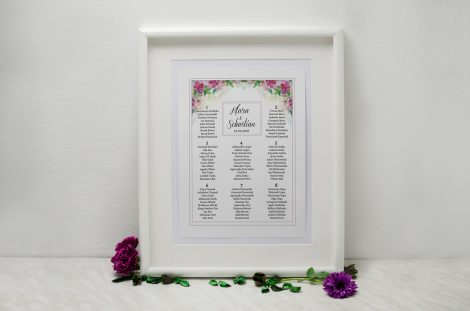 plan stołów weselnych