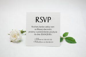 wkładka do zaproszeń