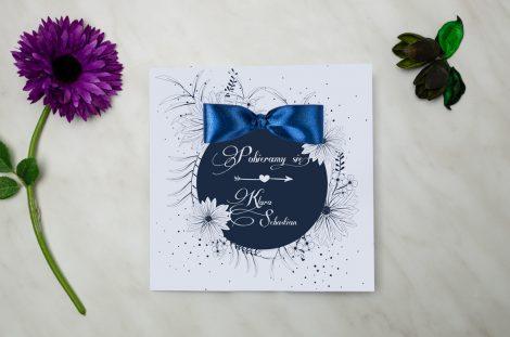 Zaproszenia Ślubne Kwadratowe