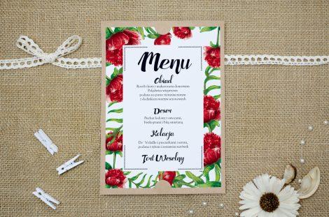menu-weselne-eco-boho-floral-czerwone