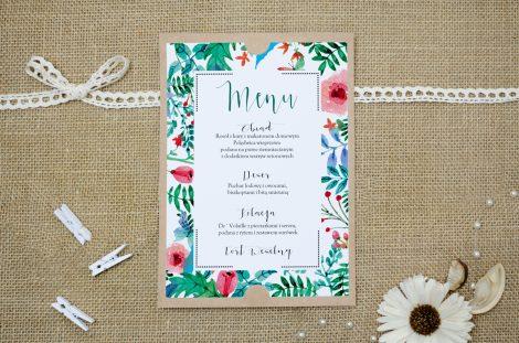 menu-weselne-eco-boho-floral-zielone
