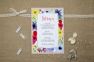 menu-weselne-rozowe-boho-floral-kolorowe
