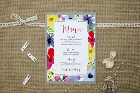 boho floral kolorowe