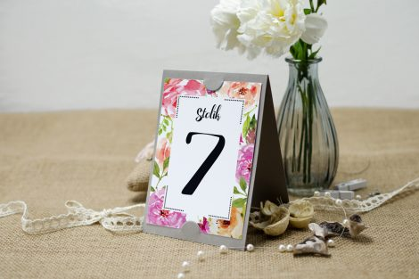 numer na stoły weselne