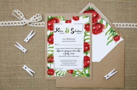 zaproszenie-slubne-eco-boho-floral-czerwone