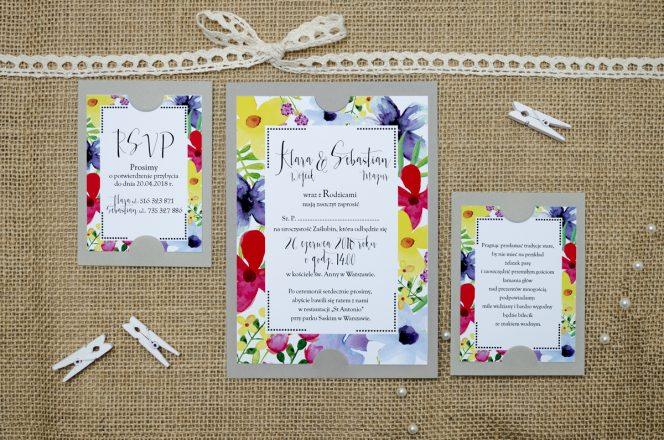 zaproszenie-slubne-szare-boho-floral-kolorowe