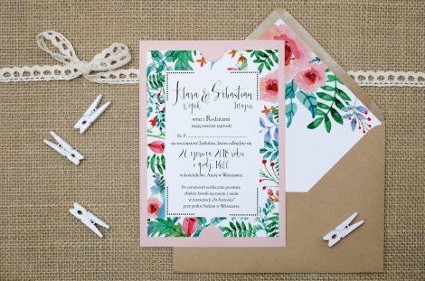zaproszenie-slubne-rozowe-boho-floral-zielone