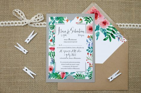 zaproszenie-slubne-szare-boho-floral-zielone