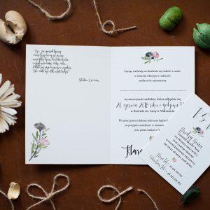 Dodatki I Zaproszenia ślubne Rustykalne Czyli Wesele Z Klasą