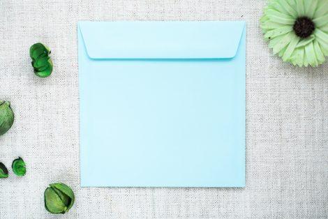 koperta błękitna